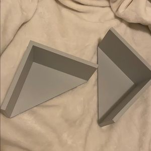 Small Grey Shelves